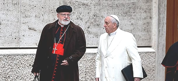 Cardinale OMalley e Papa Francesco