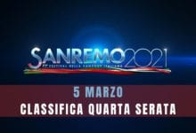 Sanremo classifica quarta puntata